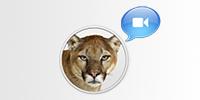 استخدم iChat على Mountain Lion